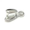 10pcs lot 925 Sterling Silver Pinch Clip Clasp For Pendant DIY Craft Jewelry 2.5x9mm WP199 Free Shipping