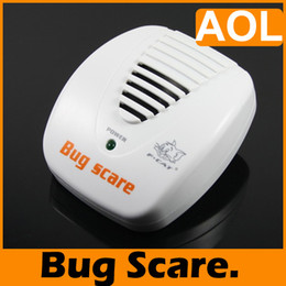 Wholesale Pest Scare - Ultrasonic Electrical Mouse Rat Mosquito Pest Repeller Smart Bug Scare 24 Hour Protection,1PCS
