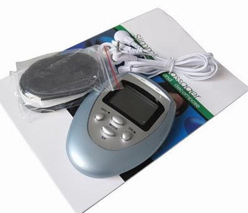 100 teile / los Brennen Fett GYM Muscle Massager Abnehmen Maschine Elektronische Puls Massagegerät Freies DHL FEDEX Verschiffen