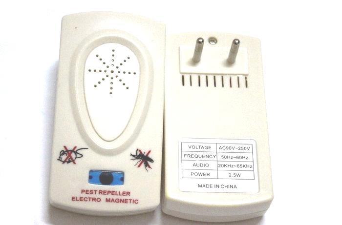 Ultrasonique Anti Moustique Insecte Répulsif Répulsif Repeller Insecte / Souris / Bug / Mosquito Livraison gratuite