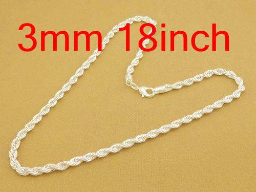 stainless steel plated chain fashion twist gold rope product necklace mens for womens