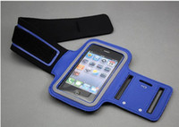 Wholesale Iphone 3g Sport Case - 100pcs Sports Armband WaterProof Case for Apple iPhone 3G 4 4S iPod Touch 4G A10