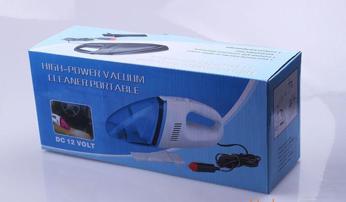 Colector eléctrico del limpiador del polvo del vacío del PDA del cargador de DC del enchufe eléctrico del automóvil del coche