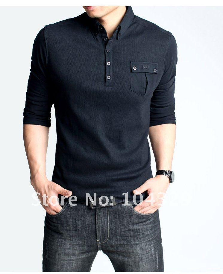 2018 mens polo t shirt outdoor safari style chest pocket for Men s polo shirts with chest pocket