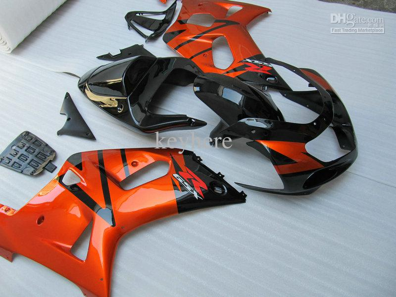 Kit Conjunto completo carenagem para 2001 2002 2003 Suzuki GSXR 600 750 GSX-R600 / 750 01 02 03 ABS carenagens kit