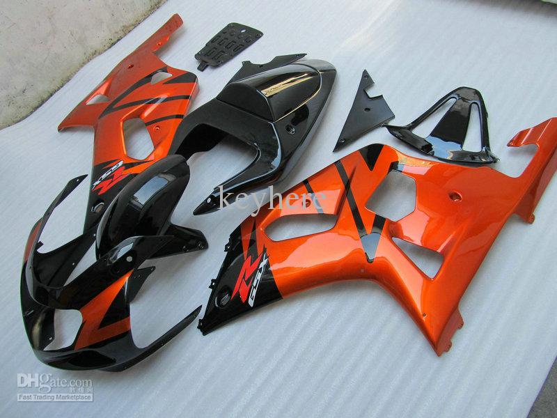 풀 세트 페어링 키트 2001 2002 2003 스즈키 GSXR 600 750 GSX-R600 / 750 01 02 03 ABS 바람막이 키트