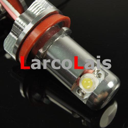 20% AV 2X 10W H8 Angel Eyes Halo Ring LED Glödlampa för BMW E92 E93 X5 X6 E63 E70 E71 E82 E87