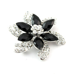 $enCountryForm.capitalKeyWord Canada - Brooch For Women Hot sale!!cheap fashion jewelry Fashion Brooches Alloy Rhinestone flower brooch (F8) pins brooches