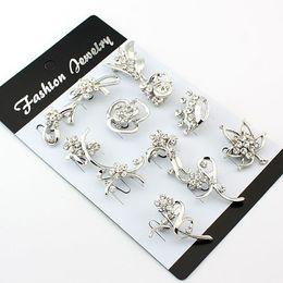 Wholesale Hot Sale Jewellery - Wholesale - Hot sale!! Cheap Jewellery Brooches Fashion Brooch 01 flower brooch Best gift (F86)