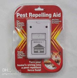 Wholesale Rodent Wholesale - CPA ! 2pcs Riddex Rodent Repelling Aid Plus Electronic Pest Control Easy