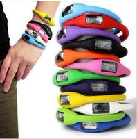 Wholesale Anion Waterproof Watch - 10 different colour Fashion Wrist t Watch 1ATM waterproof anion silicone watch