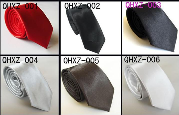 Atacado Casual tie, homens e mulheres tie, gravata cor sólida, Multi-cor opcional
