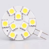 Wholesale G4 Led 24v - Free Shipment SMD5050 G4 Led Lamp 9led 12VAC&12VDC&24VDC&24VAC Dimmable White Warm White Super Bright 10pcs lot