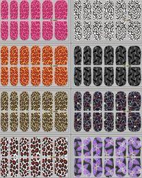 Wholesale Nails Sheet - Pick up your Salon style ,Nail polish Stickers Nail polish Strips 14pcs sheet, Animal