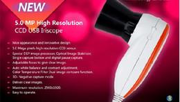 Wholesale Iriscope Analyzer - Free shipping 5MP USB Digital Test Iriscope Iridology Eye Camera Iris Diagnosis System Device Iris Analyzer Iris Camera 990U