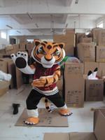 Wholesale Kung Fu Panda Mascotte - Mascot tiger tigress Kung Fu Panda clothing Mascotte EPE