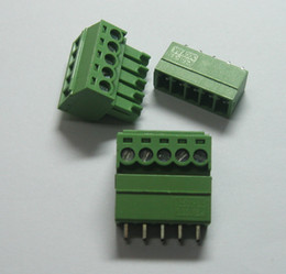 $enCountryForm.capitalKeyWord Canada - 20 pcs 5pin way Pitch 3.5mm Screw Terminal Block Connector Green Color T Type with pin