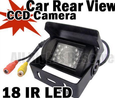 12V 24V HD Waterproof 18LED IR D/N Vehicle Backup Reverse Camera Car Rear View Camera For Bus Truck Trailer X