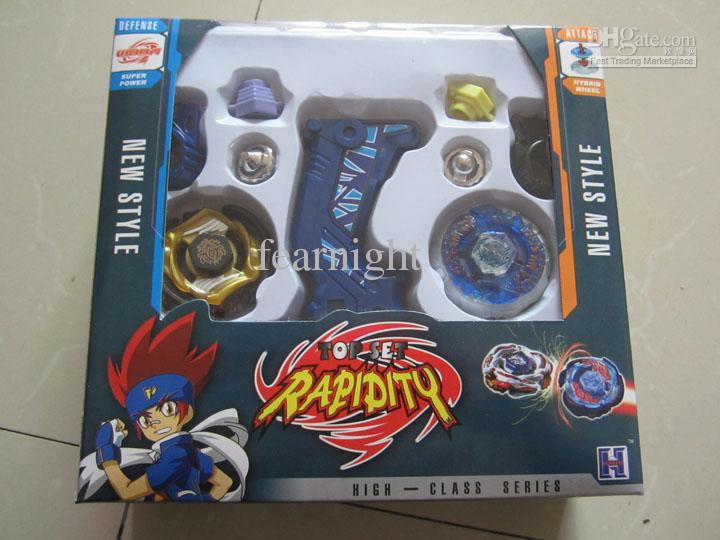 New! Plastic Beyblade Spinning Tops/Gyro Set Beyblade Spin Top Toy