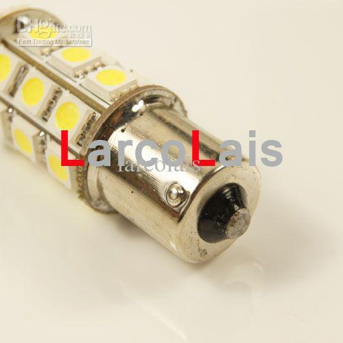 10 stücke Weiß 27 LED 1156 BA15S 5050 Auto Biegen Bremse Rückwärts Schwanz Singal Blinker Glühbirne Lampe