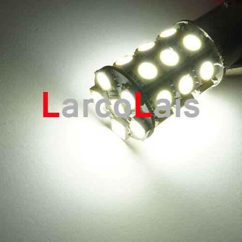 Branco 27 LED 1157 BAY15D 5050 Car Curva de Freio Reversa Cauda Singal Indicator Lâmpada Lâmpada
