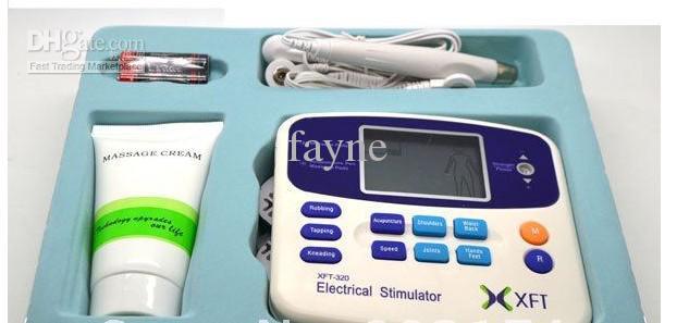 Stimulateur électrique Full Body Relax Massothérapie musculaire, Pulse Burn des dizaines d'acupuncture avec 4 pad