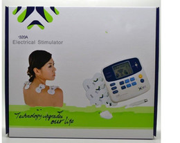 $enCountryForm.capitalKeyWord Canada - Electrical Stimulator Full Body Relax Muscle Therapy Massager,Pulse Burn tens Acupuncture with 4 pad
