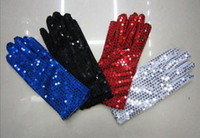 Wholesale 10pair Sequined gloves performances performances gloves color can choose
