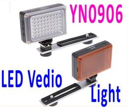 Wholesale Yongnuo Pro Led Video - YONGNUO YN0906 54 LED 5500K Pro LED Video Light,Camera Photo Light for Canon Nikon SLR DSLR Camera