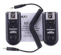 camara flash yongnuo venda por atacado-Yongnuo RF-603 C1 Gatilho de Flash de Rádio para Canon 400D 450D 60D 550D 500D RF603 câmera digital dslr