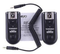 ingrosso telecamera flash yongnuo-Yongnuo RF-603 C1 Radio Flash Trigger per Canon 400D 450D 60D 550D 500D RF603 fotocamera digitale dslr