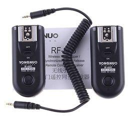 Disparador de flash de radio Yongnuo RF-603 C1 para Canon 400D 450D 60D 550D 500D RF603 cámara digital dslr desde fabricantes