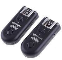 Wholesale yongnuo flash online - Yongnuo Wireless Flash Trigger Remote Control RF C3 FSK GHz For D D II D DS D D D