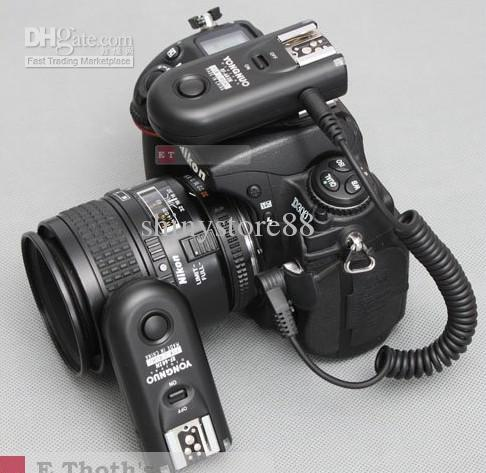 Yongnuo RF-603 C1 Radio Flash Trigger for Canon 400D 450D 60D 550D 500D RF603 & digital camera 6PCS