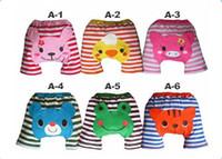 Wholesale Baby Girl Busha - busha cute baby infant girls boys Summer PP pants 6 colors , 24pcs lot, dandys