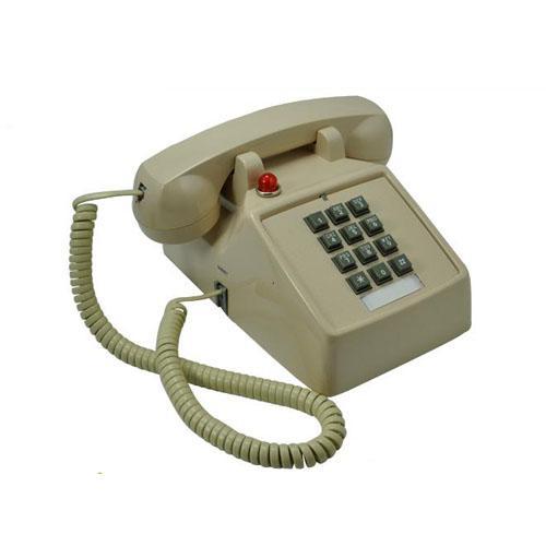 1970 Vintage Push Button Telephone Retro Antique Desk Phone Home Decor