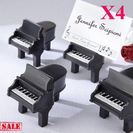 Free Shipping!24pcs lot!! Piano Place Card Holder wedding favors, table card holder party favors with paper card!
