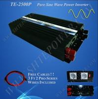 Wholesale Sine Wave Inverter 5kw - Freeshipping &wholesale! 2500W 24Vdc dc to 220V ac Pure Sine Wave Power Inverter (5kw 5000w peak pow
