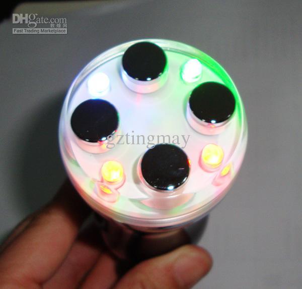 Mini Hem Använd fotonterapi LED Light Beauty Instrument för Skin Care Rynka borttagning