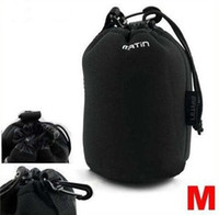 Wholesale Neoprene Camera Bag Case - Matin Neoprene Soft Camera Lens Pouch bag Case Size M 30pcs