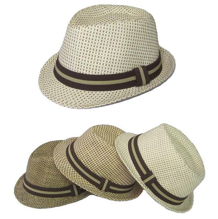 Children s Fedora Straw Fedora Hats Caps Hats Fedoras Hat For Kids Boy s  Summer Fedoras Cap Headgea UK 2019 From Ellenliuting 934bdff90bd