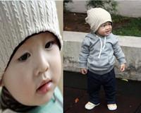 Wholesale Mj Hats - baby hat MJ beanies beanie kids' caps kids hats children's hats baby beanie baby beanies 10PCS uiasg