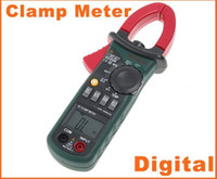 Wholesale Digtal Clamp Meter - Professional Forcipated AC Digtal Clamp Meter with Light Temp Frequency MASTECH H4495 1pcs