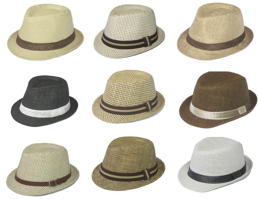 2019 2012 Children s Straw Fedora Hats Caps Fedoras Hat For Kids Boy s  Straw Caps Jazz Hat From Ellenliuting 11f6cc6e4f7