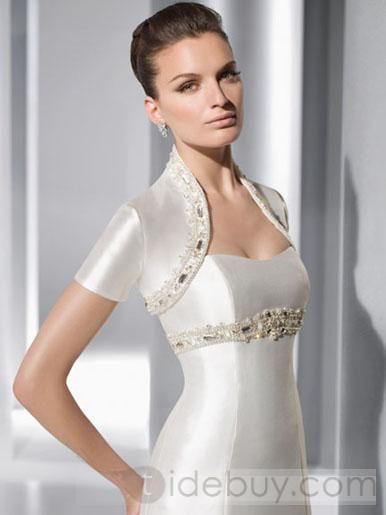 Großhandel 2012 Neue Design Jacke Passen Für Die Brautkleider Bolero ...