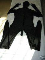 Wholesale Suit Penis - Lycra Zentai Spandex Catsuit Costume black Penis