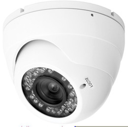 "Wholesale Camera Dome Metal Housing - Aptina 1 3.2"",2.0-Megapixels CMOS IP IR Dome Camera with 36pcs LED,Vandalproof Metal Housing IP65"