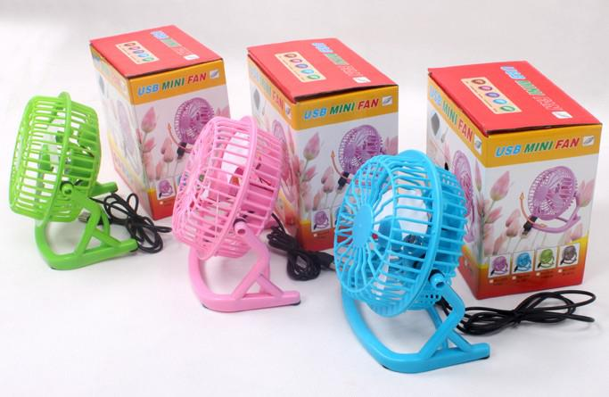 USB Mini Retro Desk Fan for PC , Laptop , Netbook, Apple Macbook , iMac