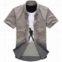 Wholesale Boys Dress Shirt M - Fashion Men Causual Leisure Shirts Tops Shirt dress shirts shirt Clothing Boys dress shirts