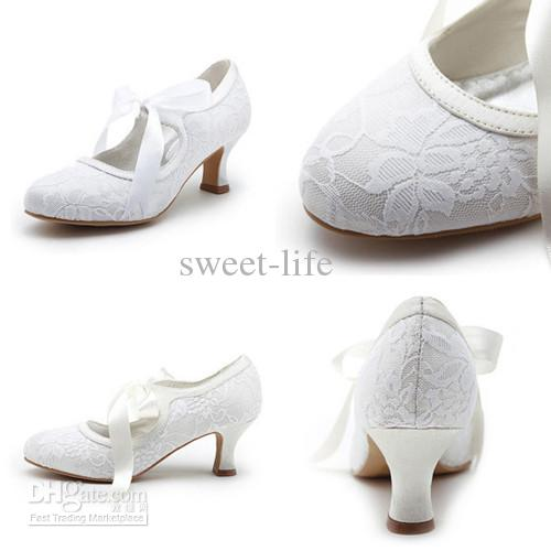 Flats Lace Wedding Shoes